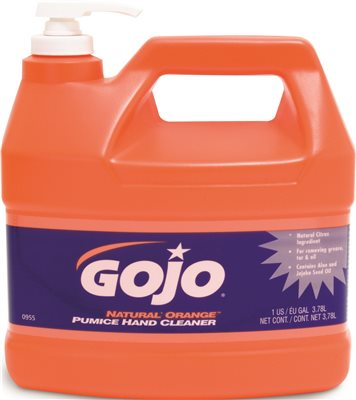 0955-04 1 Gallon Fast Orange Hand Cleaner with Pump