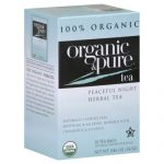 100 ORGANIC & PURE TEA HERBL PEACFL NGHT ORG-18 BG -Pack of 6