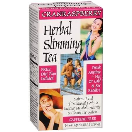 21st Century Herbal Slimming Tea Cranraspberry - 0.06 oz.