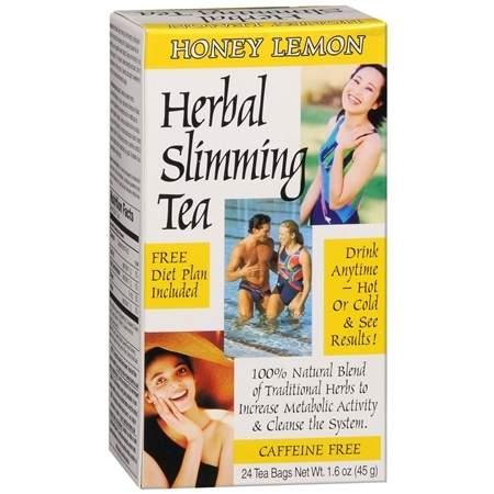 21st Century Herbal Slimming Tea Honey Lemon - 0.06 oz.