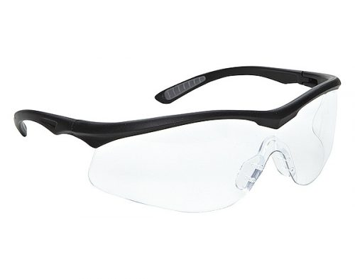3M 114360000020 Glasses Safety Clear Lens - Black
