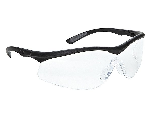 3M 114360000020 Glasses Safety Clear Lens - Black