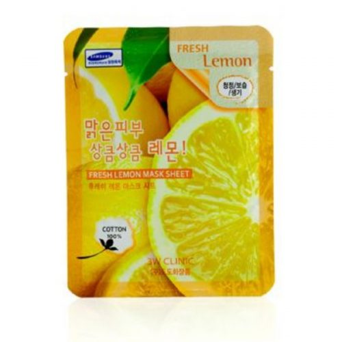 3W Clinic 179376 Mask Sheet - Fresh Lemon 10 Piece