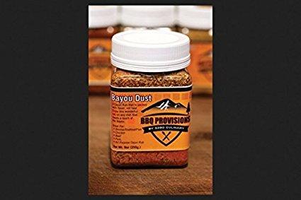 5280 Culinary BayouRub-CS 9 oz BBQ Rub Bayou Dust