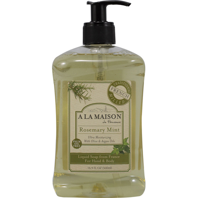 A La Maison French Liquid Soap Rosemary Mint 16.9 FO