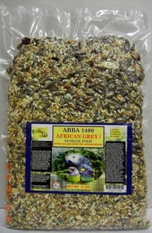 ABBA AB14005 1400 African Grey Seed 5 lbs Bag