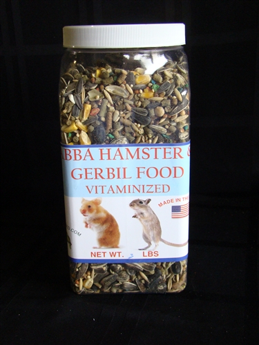ABBA AB3000J Hamster & Gerbil Food 3 lbs Jar