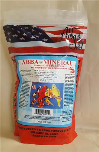 ABBA ABMGJ Blue Mineral Grit 2 lbs Pouch