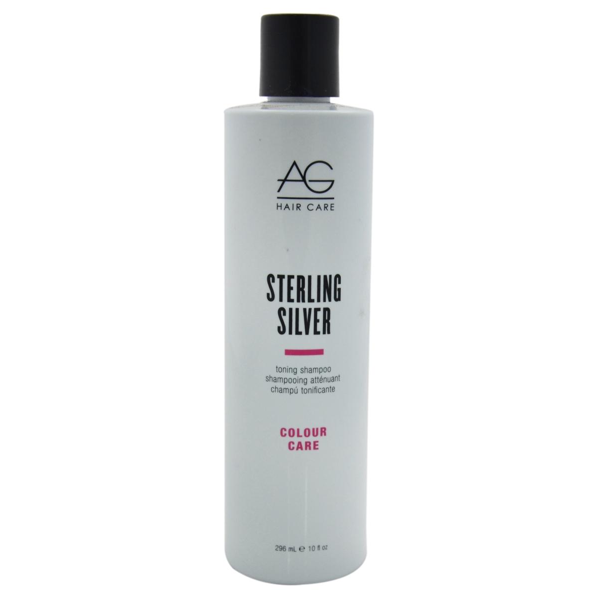AG Hair Cosmetics U-HC-10711 Sterling Silver Toning Shampoo for Unisex - 10 oz