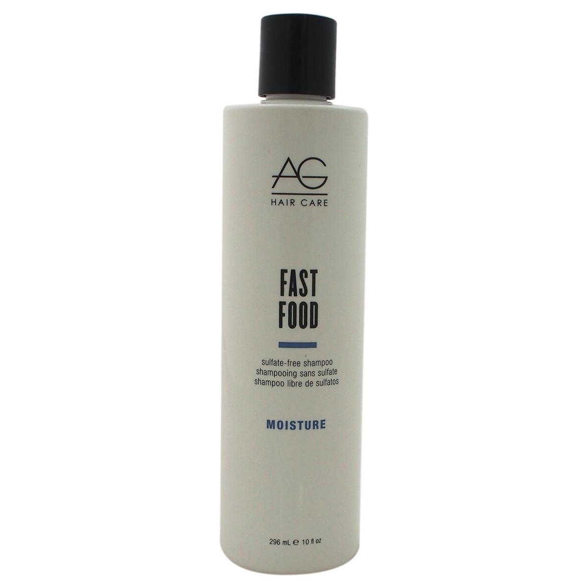 AG Hair Cosmetics U-HC-10819 Moisture Fast Food Sulfate-Free Shampoo for Unisex - 10 oz