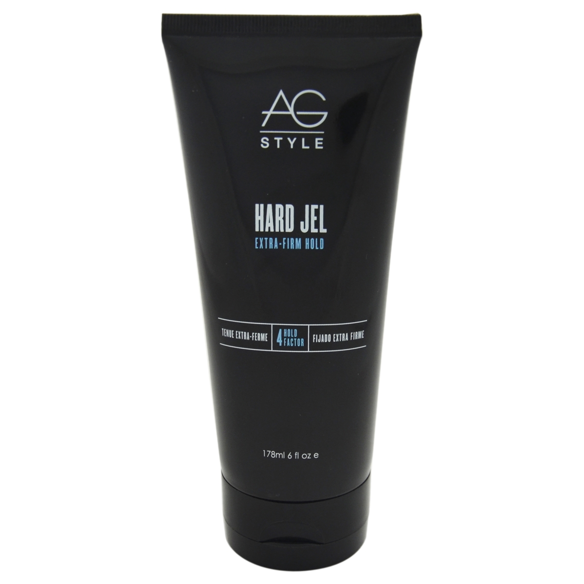 AG Hair Cosmetics U-HC-7270 Hard Jel Extra-Firm Hold Gel for Unisex - 6 oz