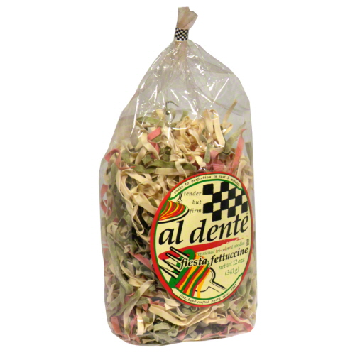 AL DENTE PASTA FTTCCNE FIESTA TRI--12 OZ -Pack of 6