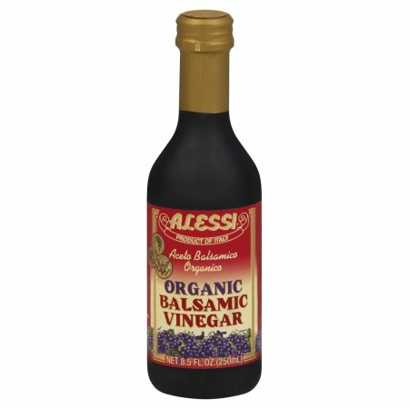 ALESSI VINEGAR BALSAMIC RED ORG-8.5 OZ -Pack of 6