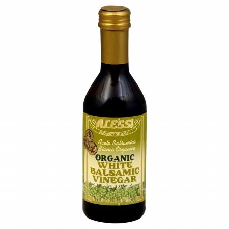 ALESSI VINEGAR BALSAMIC WHT ORG-8.5 OZ -Pack of 6
