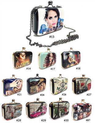 ALFA H8311-29 No. 29 Collage Beautiful Clutch
