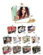 ALFA H8313-27 No. 26 Collage Beautiful Clutch