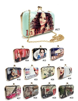 ALFA H8313-29 No. 29 Collage Beautiful Clutch