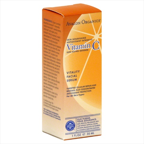 AVALON ORGANICS VITAMIN C VITALITY SERUM-1 OZ -Pack of 1