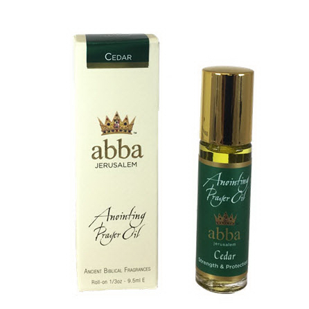 Abba Products 170630 Anointing Oil-Roll On-Cedar - 0.33 oz