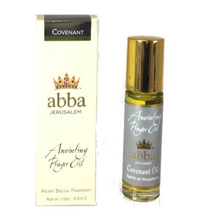Abba Products 170795 Anointing Oil-Roll on Covenant - 0.33 oz