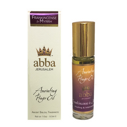 Abba Products 170800 Anointing Oil-Roll On-Frankincense & Myrrh - 0.33 oz
