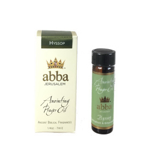 Abba Products 170805 0.25 oz Anointing Oil - Hyssop
