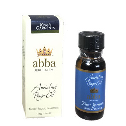 Abba Products 170812 Anointing Oil-Kings Garments - 0.50 oz