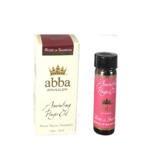 Abba Products 170834 0.25 oz Anointing Oil - Rose of Sharon