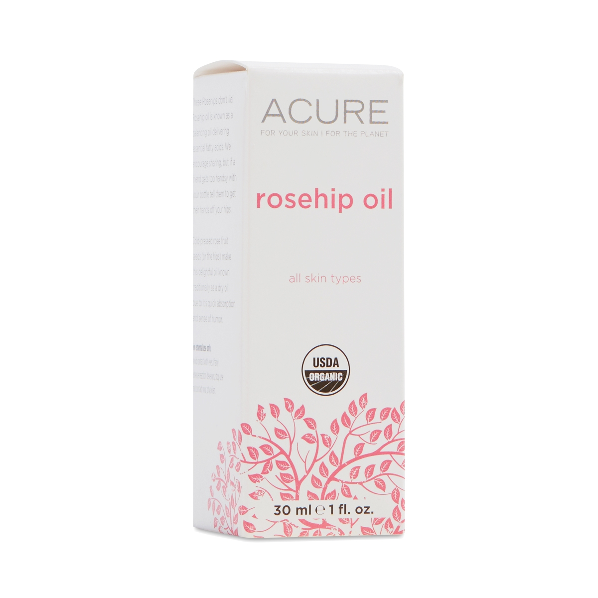 Acure 1850007 1 fl oz Organics Rosehip Oil