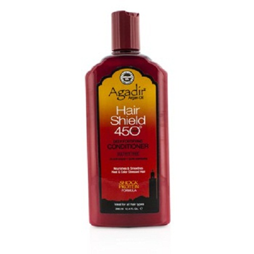 Agadir Argan Oil 183566 Hair Shield 450 Plus Deep fortifying Conditioner Sulfate Free for All Hair Types 366 ml-12.4 oz