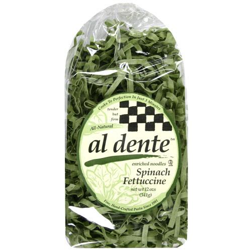 Al Dente 119974 Spinach Fettuccine Pasta