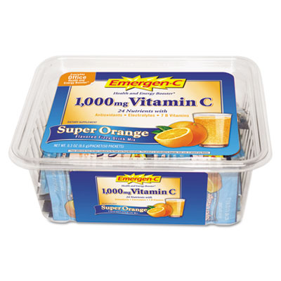 Alacer 130279 Immune Defense Drink Mix Super Orange 0.3 oz Packet 50-Pack