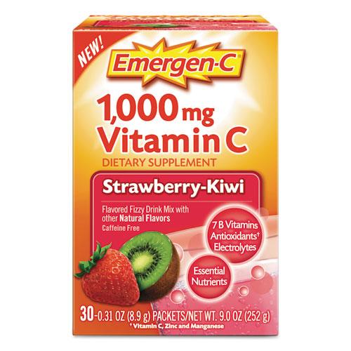 Alacer 130319 Immune Defense Drink Mix Strawberry Kiwi - 0.31 oz.