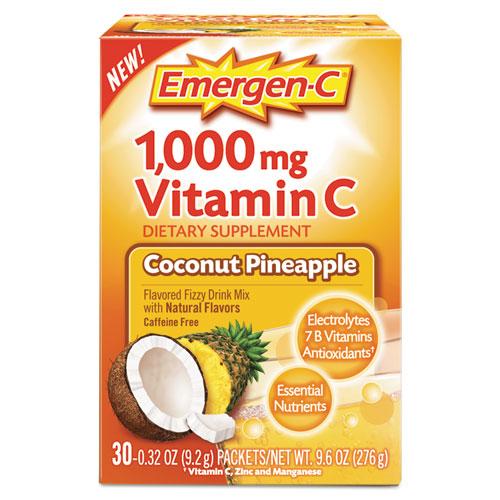 Alacer 130603 Immune Defense Drink Mix Coconut Pineapple - 0.32 oz.