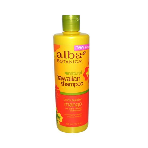Alba Botanica 257618 Alba Botanica Hawaiian Hair Wash Moisturizing Mango - 12 fl oz