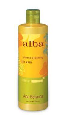 Alba Botanica Hawaiian Hair Care Plumeria Replenishing Hair Washes 12 fl. oz. 218113