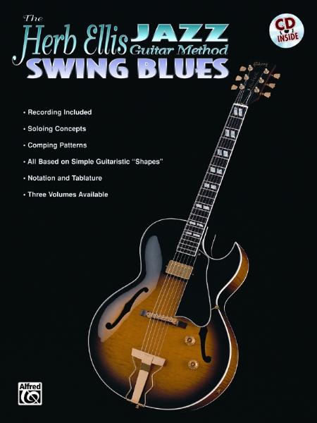 Alfred 00-EL9532CD The Herb Ellis Jazz Guitar Method- Swing Blues - Music Book