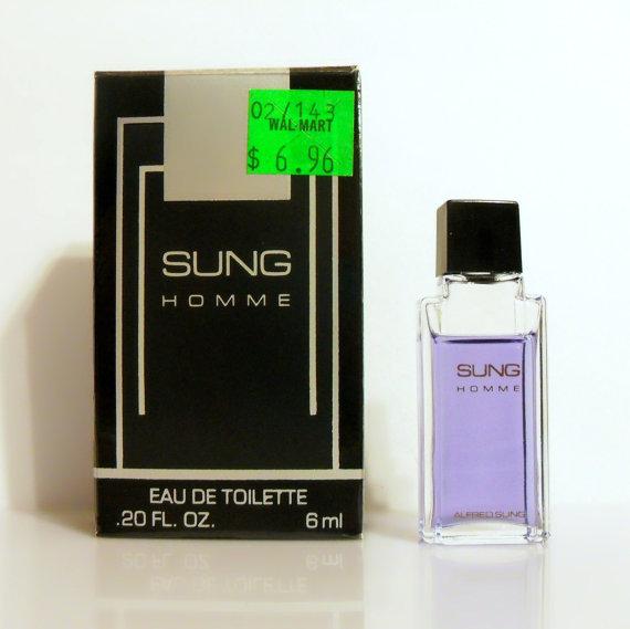Alfred Sung ALFMTM 0.2 oz Edt Mini Spray for Men