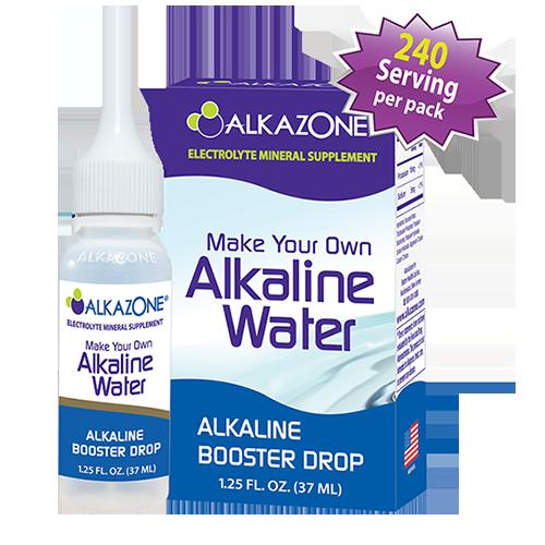 Alkazone 850 1.2 oz Alkaline Booster Drops