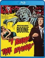 Alliance Entertainment CIN BRSF17474 I Bury The Living DVD - Blu Ray Black & White
