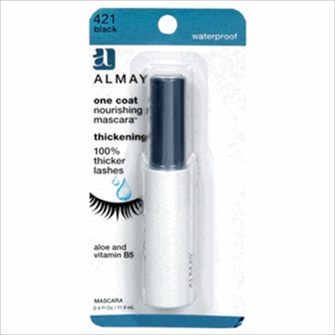 Almay One Coat Thickening Mascara Waterproof Black 421 Pack Of 2