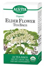 Alvita 1181692 Tea Og2 Elder Flower - 24 Bag