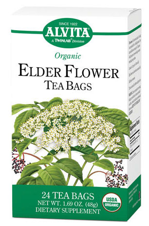 Alvita 1181692 Tea Og2 Elder Flower - 24 Bag