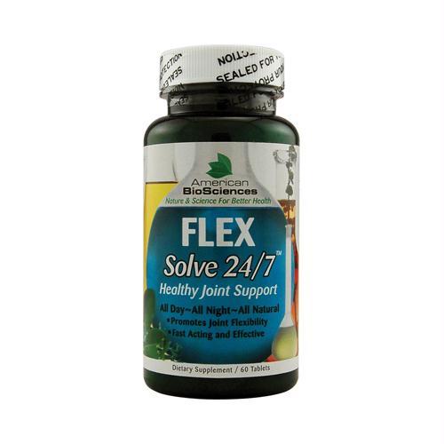 American Bio-science 353821 American Bio-Sciences FLEXSolve 24 7 - 60 Tablets