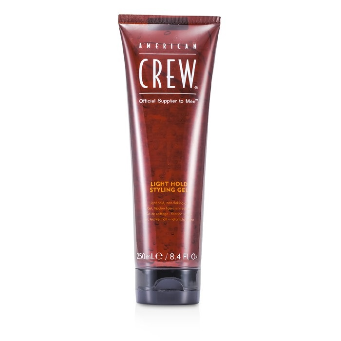 American Crew 170239 8.4 oz Men Light Hold Styling Non-Flaking Gel Hair Care