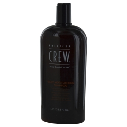 American Crew 269568 33.8 oz Daily Moisturizing Shampoo for All Types of Hair - Men