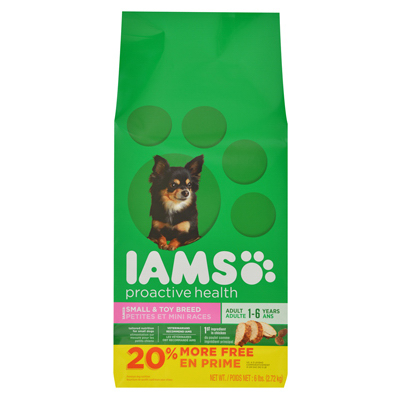 American Distribution & Mfg Co 71109 6 Lbs. Adult & Small Dog Food