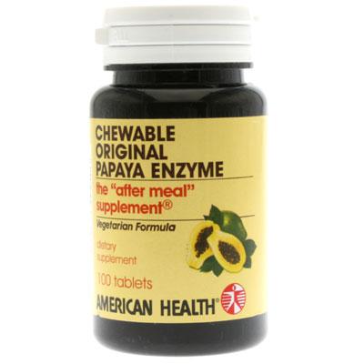 American Health 84921 Papaya Enzyme Original