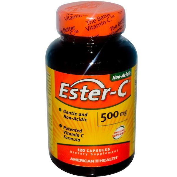 American Health BG10211 American Health Ester C 500Mg Biofl - 1x240CAP