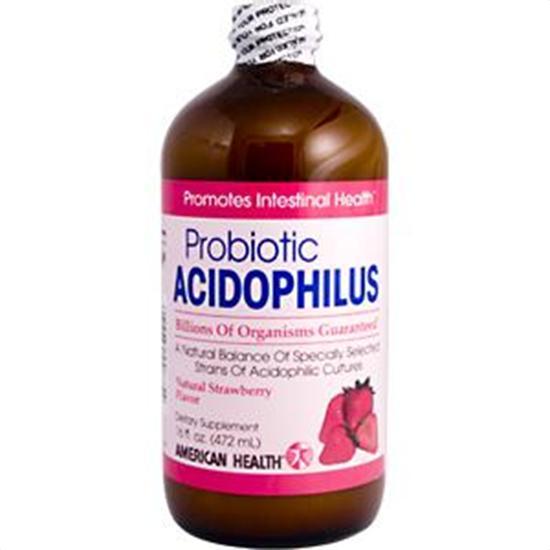 American Health Probiotics Acidophilus Culture Strawberry 16 fl. oz. 23514